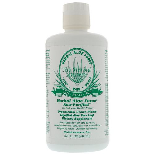 Herbal Answers, Herbal Aloe Force, 32 fl oz (946 ml) Review