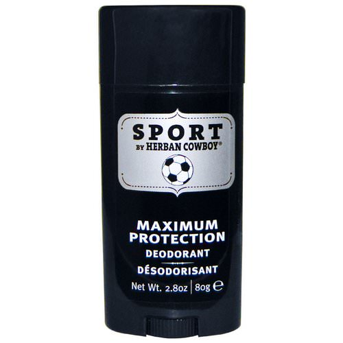 Herban Cowboy, Sport, Maximum Protection Deodorant, 2.8 oz (80 g) Review