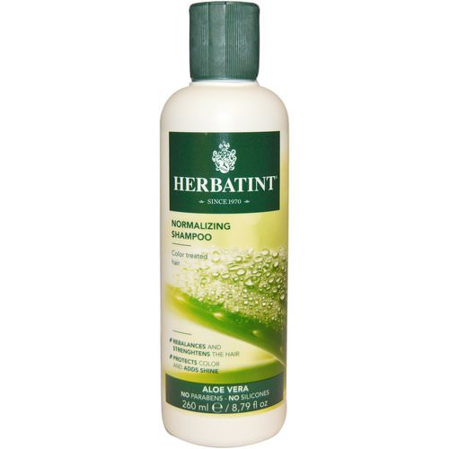 Herbatint, Normalizing Shampoo, Aloe Vera, 8.79 fl oz (260 ml) Review