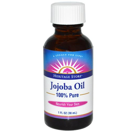 Heritage Store, 100% Pure Jojoba Oil, 1 fl oz (30 ml) Review