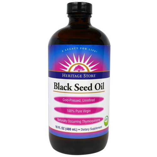 Heritage Store, Black Seed Oil, 16 fl oz (480 ml) Review