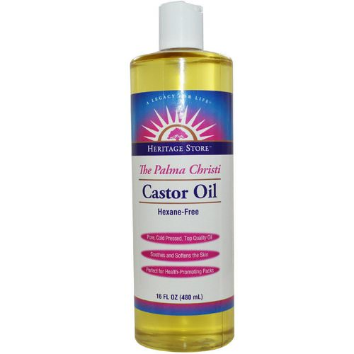 Heritage Store, Castor Oil, 16 fl oz (480 ml) Review