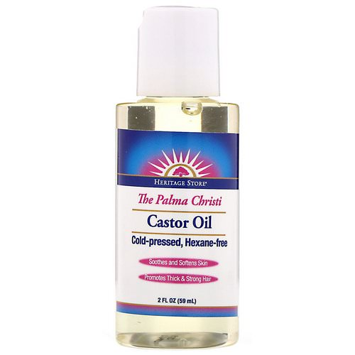 Heritage Store, Castor Oil, 2 fl oz (59 ml) Review