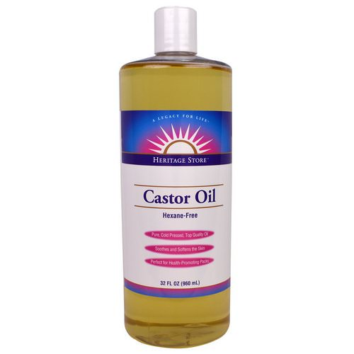 Heritage Store, Castor Oil, 32 fl oz (960 ml) Review
