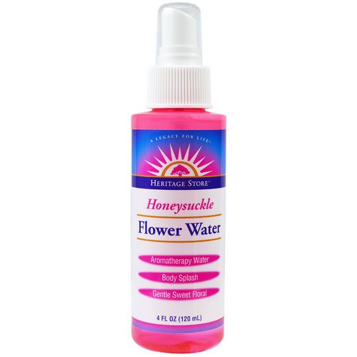 Heritage Store, Flower Water, Honeysuckle, 4 fl oz (120 ml) Review