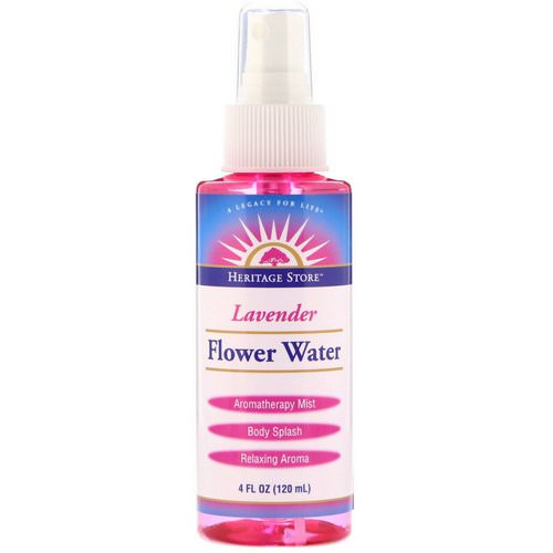 Heritage Store, Flower Water, Lavender, 4 oz (120 ml) Review