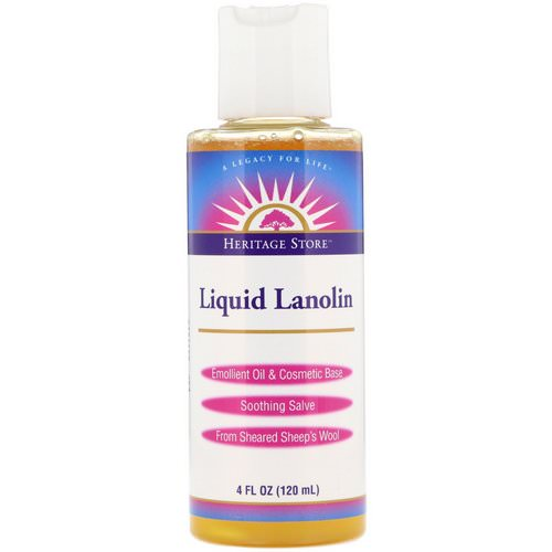 Heritage Store, Liquid Lanolin, 4 fl oz (120 ml) Review