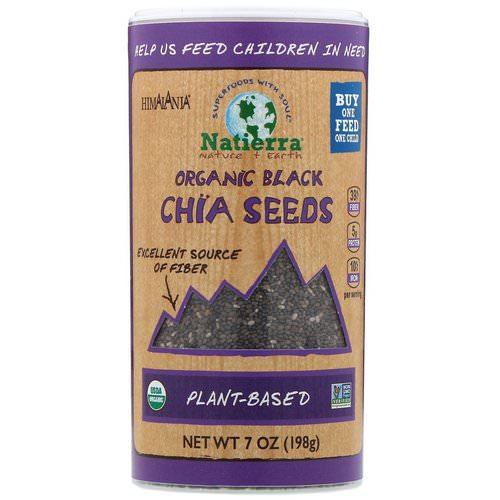 Himalania, Organic Black Chia Seeds, 7 oz (198 g) Review
