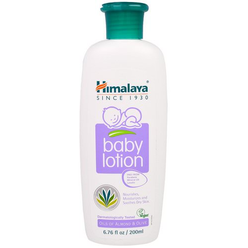 Himalaya, Baby Lotion, Oils of Almond & Olive, 6.76 fl oz (200 ml) Review