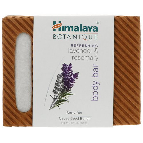 Himalaya, Botanique, Body Bar, Refreshing Lavender & Rosemary, 4.41 oz (125 g) Review