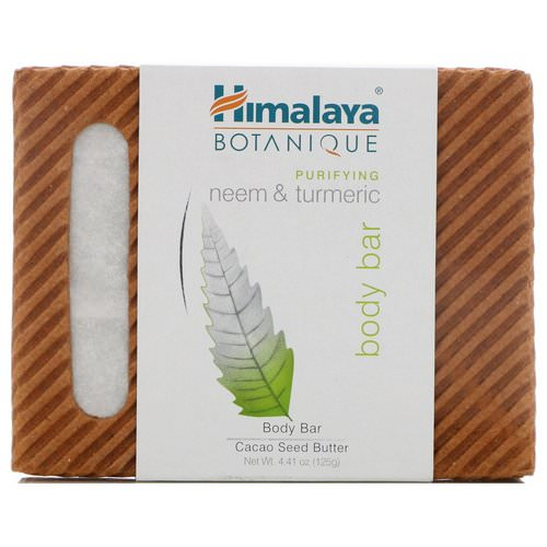 Himalaya, Botanique, Purifying Neem & Turmeric Body Bar, 4.41 oz (125 g) Review