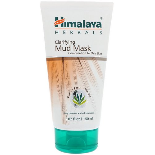 Himalaya, Clarifying Mud Mask, 5.07 fl oz (150 ml) Review