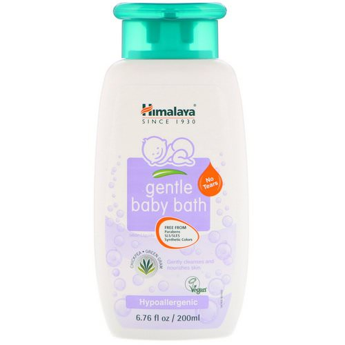 Himalaya, Gentle Baby Bath, Chickpea and Green Gram, 6.76 fl oz (200 ml) Review
