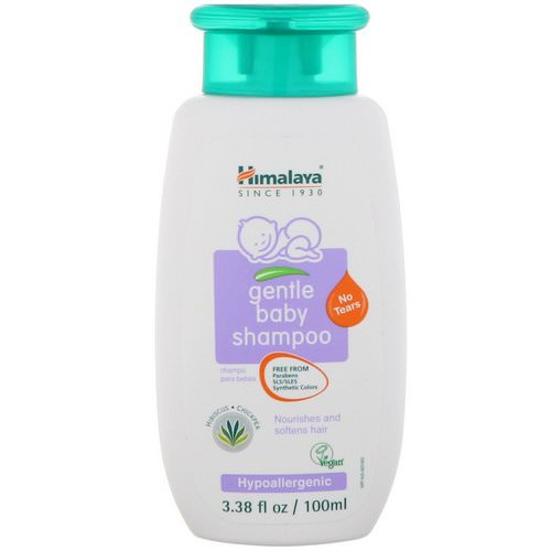 Himalaya, Gentle Baby Shampoo, 3.38 fl oz (100 ml) Review
