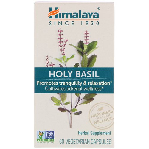 Himalaya, Holy Basil, 60 Vegetarian Capsules Review