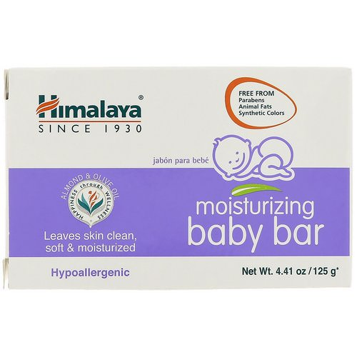Himalaya, Moisturizing Baby Bar, 4.41 oz (125 g) Review