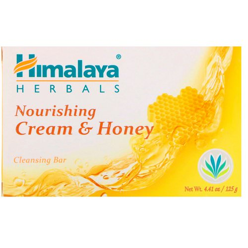 Himalaya, Nourishing Cleansing Bar, Cream & Honey, 4.41 oz (125 g) Review