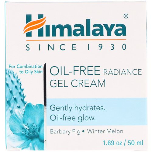 Himalaya, Oil-Free Radiance Gel Cream, Winter Melon, 1.69 oz (50 ml) Review