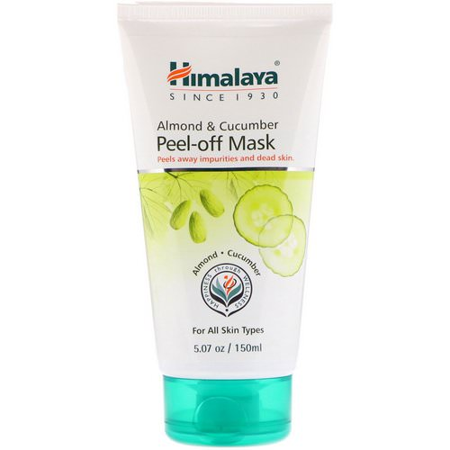 Himalaya, Peel-off Mask, For All Skin Types, Almond & Cucumber, 5.07 fl oz (150 ml) Review