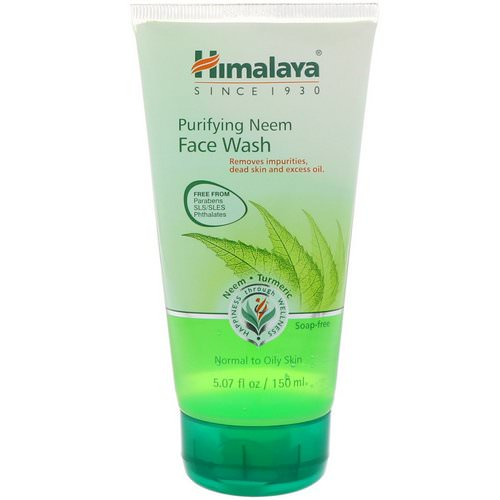 Himalaya, Purifying Neem Face Wash, Normal to Oily Skin, 5.07 fl oz (150 ml) Review