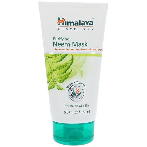 Himalaya, Purifying Neem Mask, 5.07 fl oz (150 ml) Review