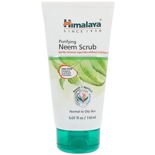 Himalaya, Purifying Neem Scrub, Normal to Oily Skin, 5.07 fl oz (150 ml) Review