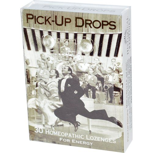 Historical Remedies, Pick-Up Drops, for Energy, 30 Homeopathic Lozenges Review