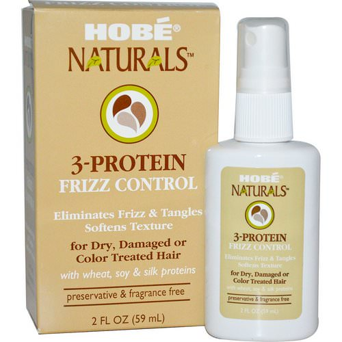 Hobe Labs, 3-Protein Frizz Control, 2 fl oz (59 ml) Review