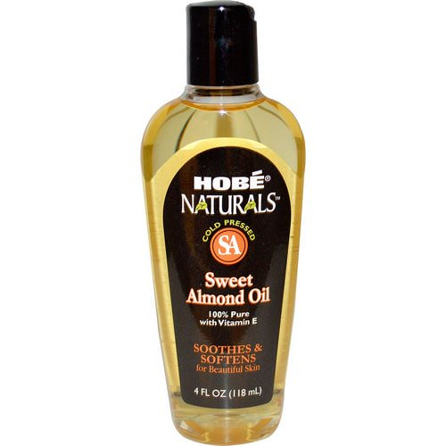 Hobe Labs, Naturals, Sweet Almond Oil, 4 fl oz (118 ml) Review