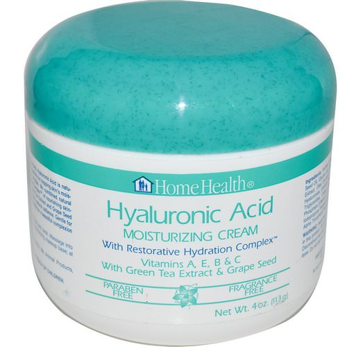 Home Health, Hyaluronic Acid, Moisturizing Cream with Restorative Hydration Complex, 4 oz (113 g) Review