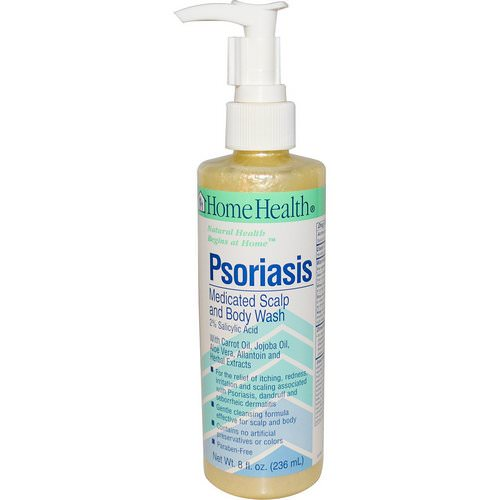 Home Health, Psoriasis, Medicated Scalp and Body Wash, 8 fl oz (236 ml) Review