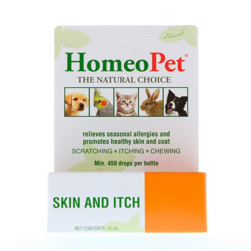 HomeoPet, Skin and Itch, 15 ml Review