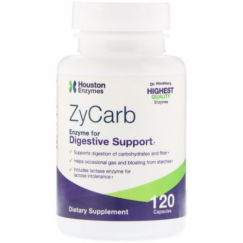 Houston Enzymes, ZyCarb, 120 Capsules Review