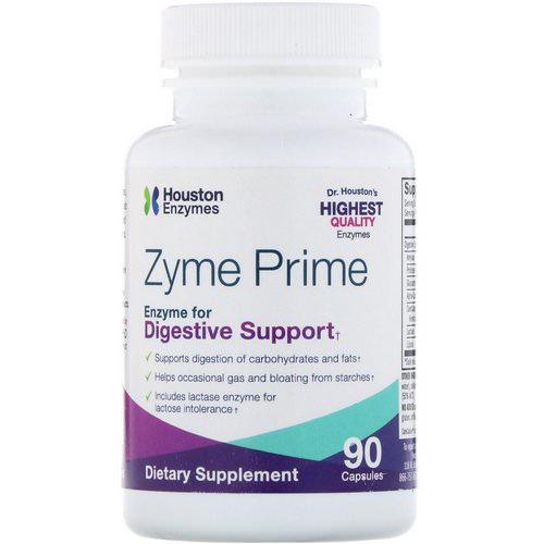 Houston Enzymes, Zyme Prime, 90 Capsules Review