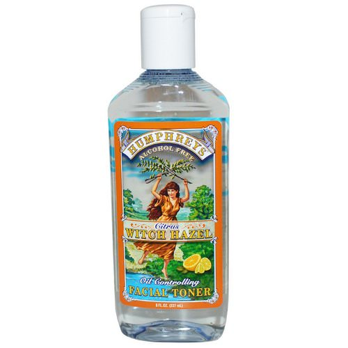Humphrey's, Citrus Witch Hazel, Oil Controlling Facial Toner, 8 fl oz (237 ml) Review