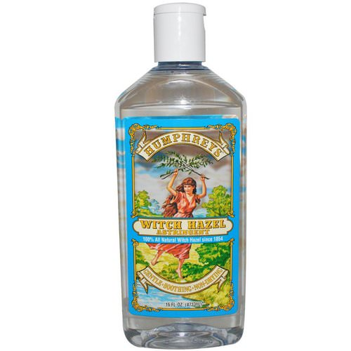 Humphrey's, Witch Hazel Astringent, 16 fl oz (473 ml) Review