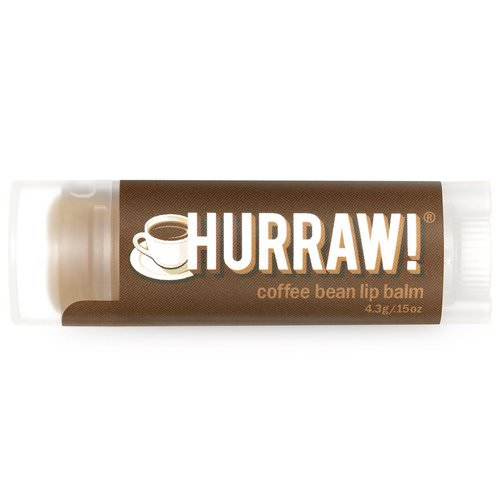Hurraw! Balm, Lip Balm, Coffee Bean, .15 oz (4.3 g) Review