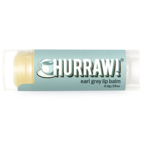 Hurraw! Balm, Lip Balm, Earl Grey, .15 oz (4.3 g) Review