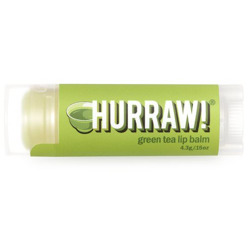 Hurraw! Balm, Lip Balm, Green Tea, .15 oz (4.3 g) Review
