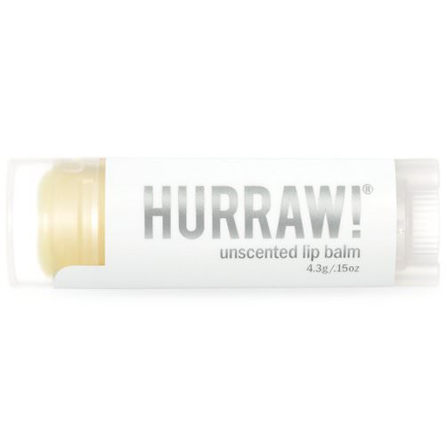 Hurraw! Balm, Lip Balm, Unscented, .15 oz (4.3 g) Review