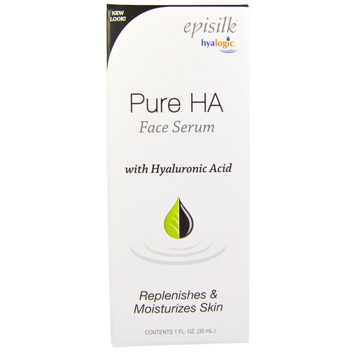 Hyalogic, Episilk, Pure HA Face Serum, 1 fl oz (30 ml) Review