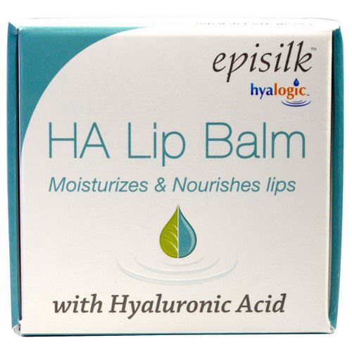 Hyalogic, Episilk, HA Lip Balm with Hyaluronic Acid, 1/2 fl oz (14 g) Review