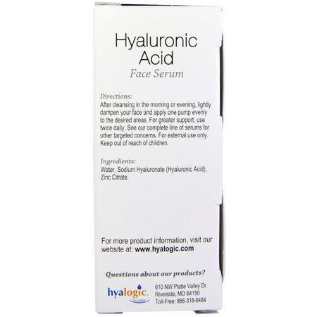 Cream, Hyaluronic Acid Serum, Beauty by Ingredient, Hydrating, Serums, Treatments, Beauty