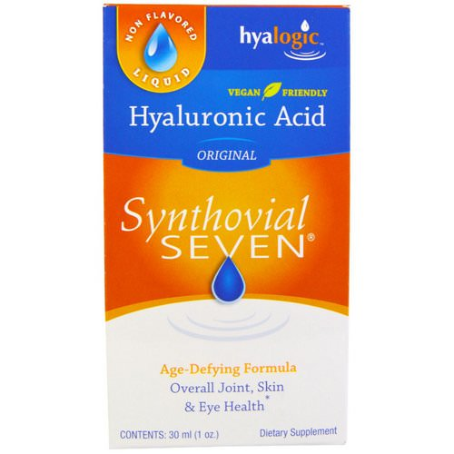 Hyalogic, Hyaluronic Acid, Synthovial Seven, 1 oz (30 ml) Review