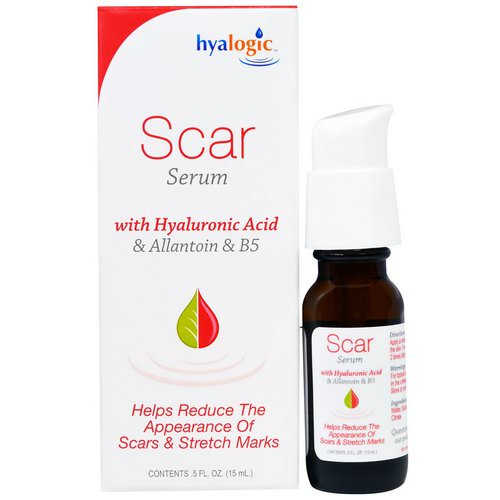 Hyalogic, Scar Serum with Hyaluronic Acid & Allantoin & B5, 5 fl oz (15 ml) Review