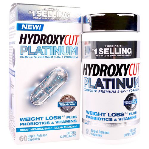 Hydroxycut, Hydroxycut Platinum, 60 Rapid-Release Capsules Review