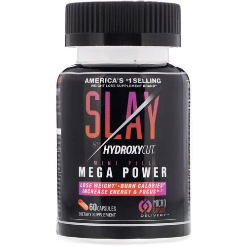 Hydroxycut, Slay by Hydroxycut, 60 Capsules Review