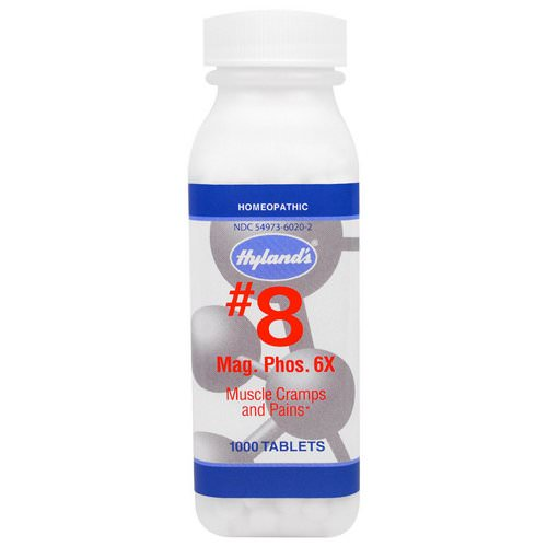 Hyland's, #8 Mag. Phos. 6X, 1000 Tablets Review