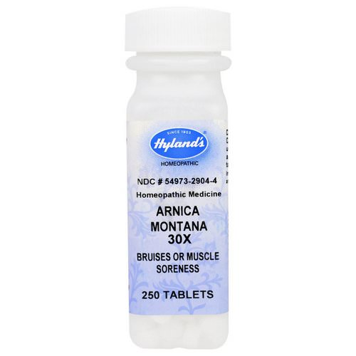 Hyland's, Arnica Montana 30X, 250 Tablets Review