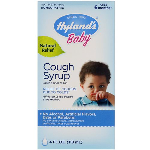Hyland's, Baby, Cough Syrup, 4 fl oz (118 ml) Review